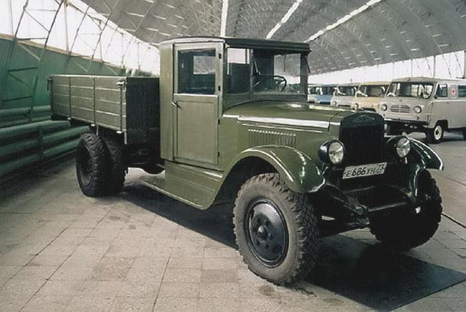 ЗИС-5 был очень надежной машиной