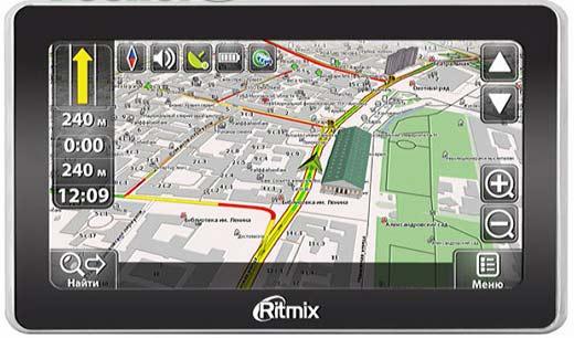 GPS навигатор с Навител
