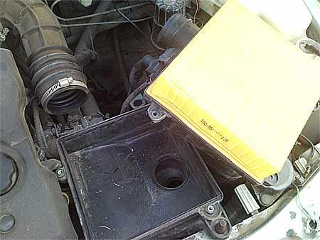 Фото №3 - как поставить воздушный фильтр на ВАЗ 2110