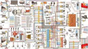 Схема электрооборудования ВАЗ 21213