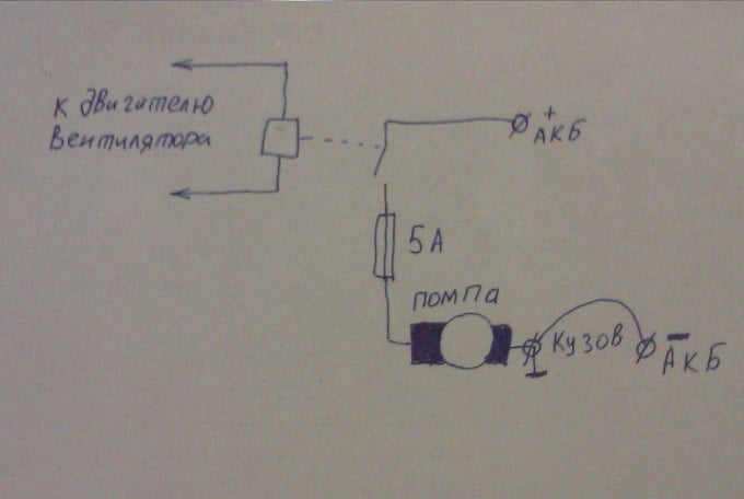 Подключение дополнительного насоса в систему отопления газель